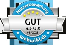 internetstore.ch Bewertung