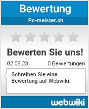 Bewertungen zu pc-meister.ch