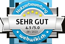 pmmakeup.ch Bewertung