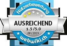 swissbilling.ch Bewertung