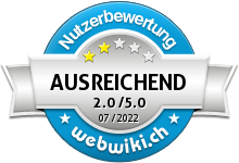 xlnutrition.ch Bewertung