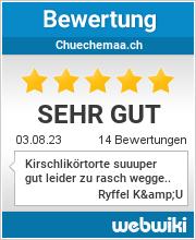 Bewertungen zu chuechemaa.ch