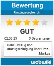 Bewertungen zu umzugsorglos.ch