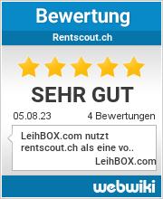 Bewertungen zu rentscout.ch