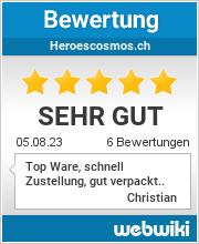 Bewertungen zu heroescosmos.ch