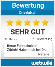 Bewertungen zu drivelab.ch